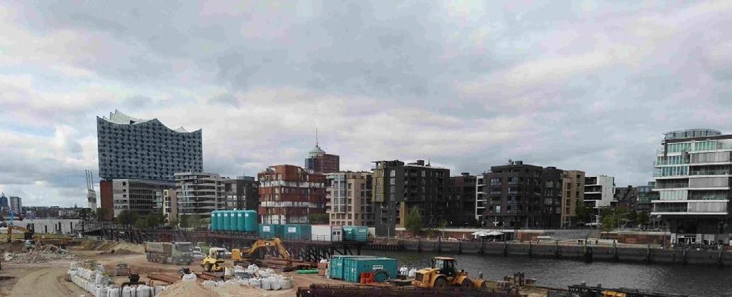 Bauprojekt Hafencity Hamburg