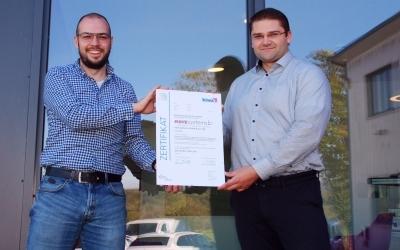 Erfolgreiche Re-Zertifizierung: Der narz systems GmbH & Co. KG in Herbstein wird erfolgreiches Informationssicherheits-Management bescheinigt